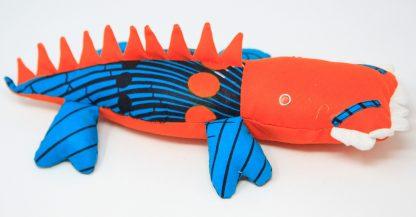 orange crocodile